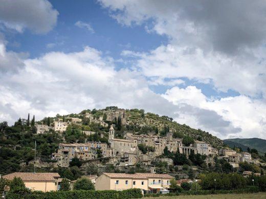 Historische Stadt in der Provence