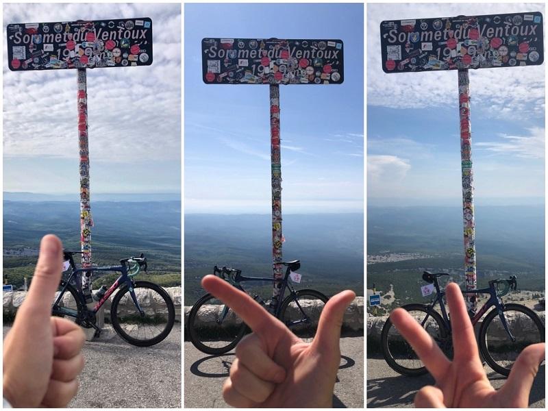 3 mal an einem Tag auf den Mont Ventoux