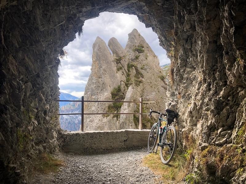 Tunnel Aussicht Kunkelspass