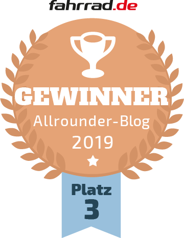 Fahhrad.de Blogwahl 2019 - Allrounder