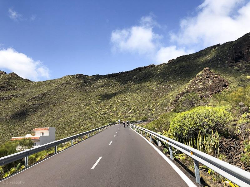 Anstieg von Tamaimo nach Santiago del Teide