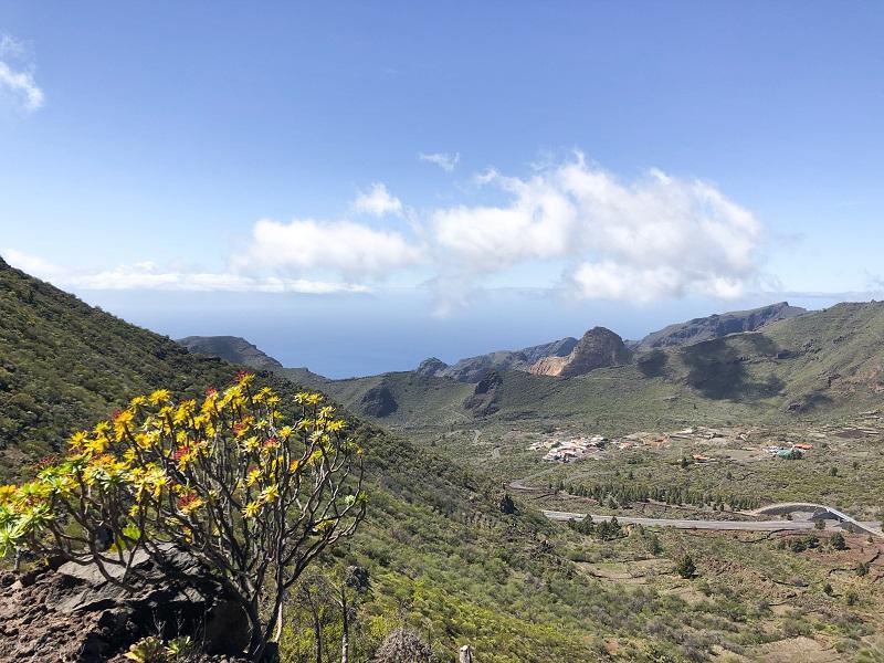 Rennrad Anstieg von Tamaimo nach Santiago del Teide