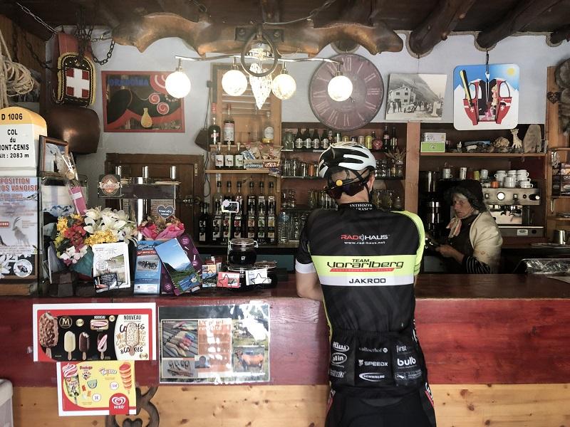Restaurant auf dem Col du Mont Cenis