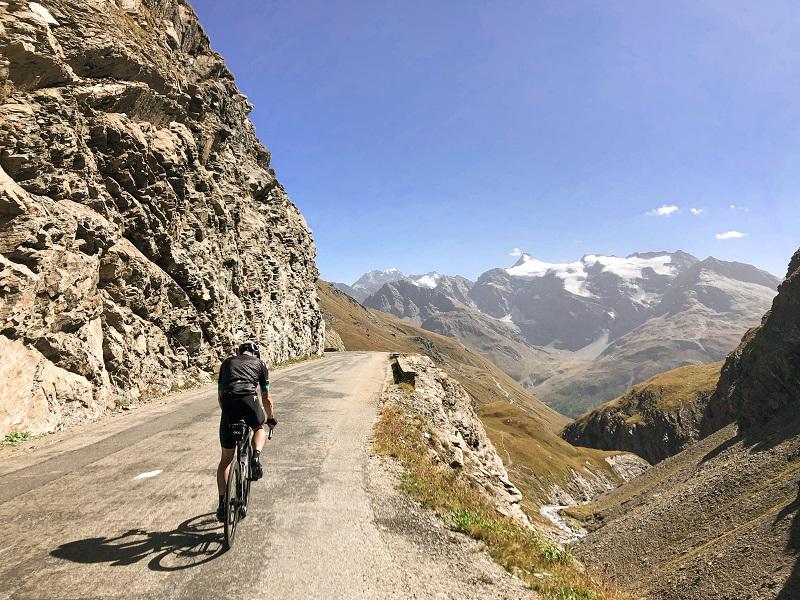 Rennradtour auf Col de l'Iseran