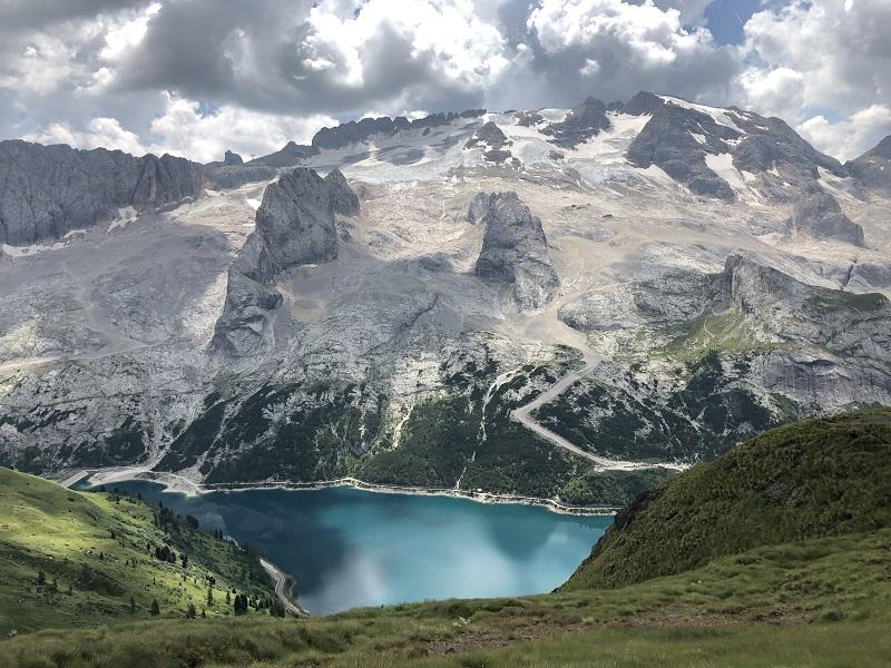 Marmolada in den Dolomiten