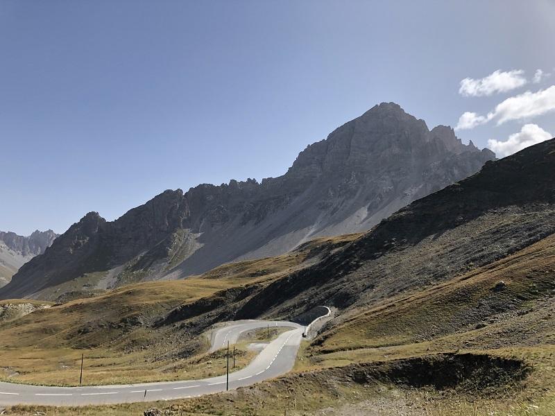 Anstieg Col du Galibier ab Valloire