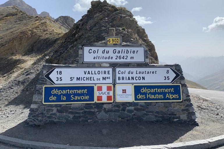 Passhöhe Col du Galibier