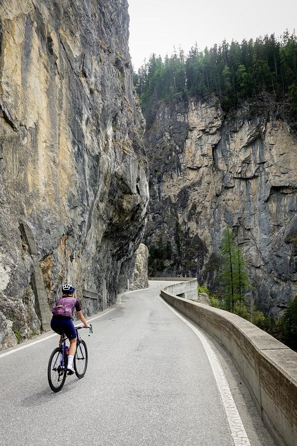 Schöne Strecke nach Bergün
